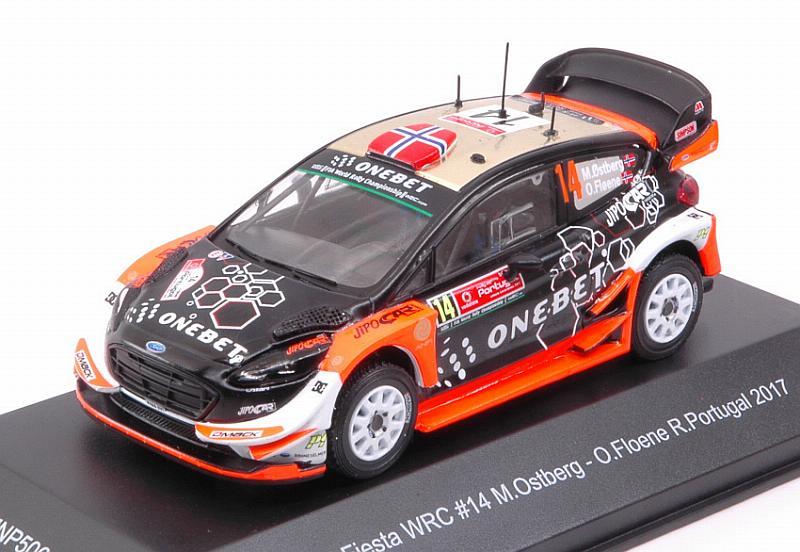 Ford fiesta WRC Rally Portugal 2017 Ostberg-floene 1 43 minipartes mnp506
