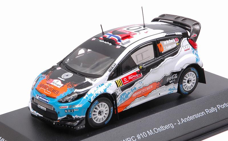 Ford Fiesta WRC Winner Rally Portugal 2012 Ostberg 1 43 Minipartes MNPRP2012