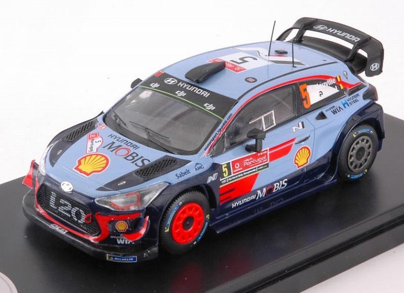 Hyundai I20 WRC Winner Rally Portugal 2018 Neuville-Gi 1 43 Minipartes MNPRP2018