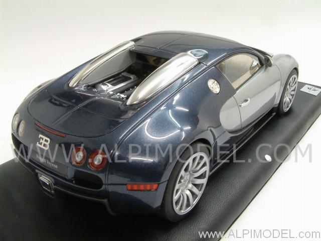 mr collection bug01f3 bugatti veyron 16 4 dark blue. Black Bedroom Furniture Sets. Home Design Ideas