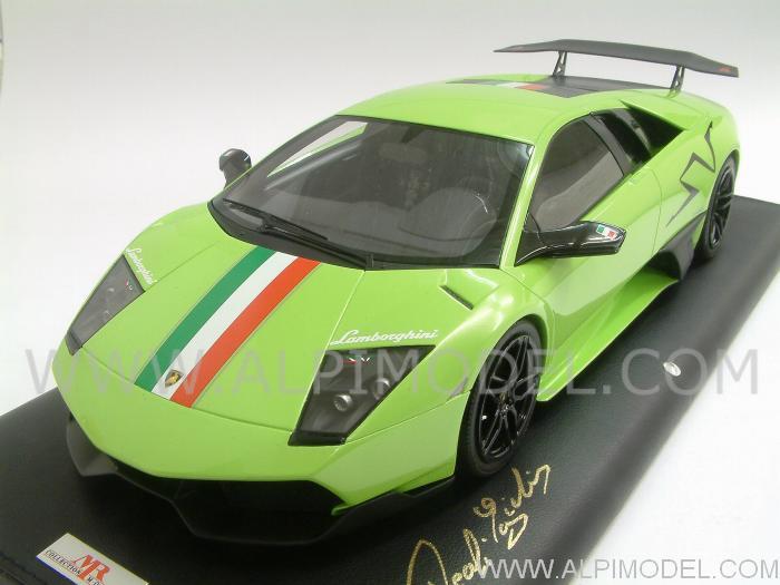 Mr Collection Lambo02it Lamborghini Murcielago Lp670 4 Sv Itaca