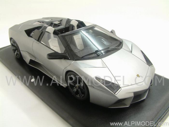 Mr Collection Lamborghini Reventon Roadster Gift Box Leather Base 1 18 Scale Model