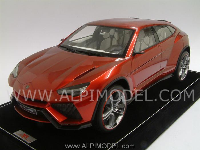 Mr Collection Lamborghini Urus Metallic Red 1 18 Scale Model