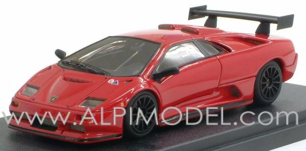 Mr Collection Mr127b Lamborghini Diablo Gt2 1998 Red 1 43