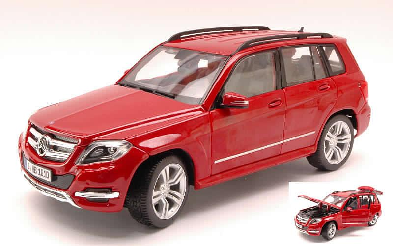 Mercedes GLK 350 4-Matic 2010 (Amaranth Red) by maisto