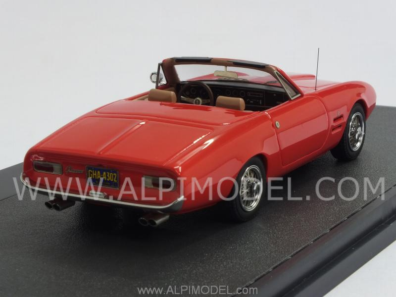 Ghia 450 SS Convertible 1966 (Red) - matrix-models