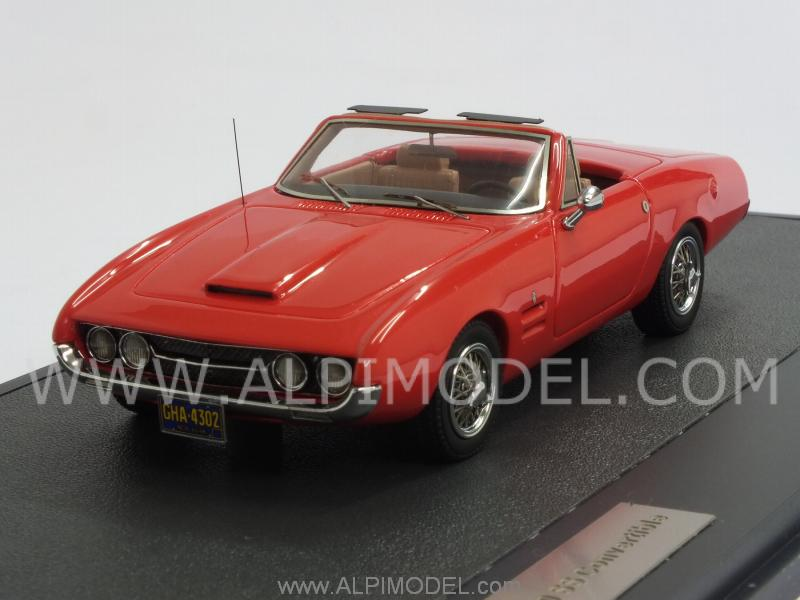 Ghia 450 SS Convertible 1966 (Red) by matrix-models