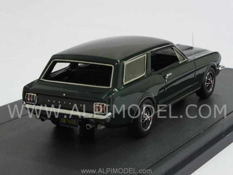 1965 Mustang Station Wagon >> matrix-models Ford Mustang Intermeccanica Station Wagon 1965 (Green) (1/43 scale model)