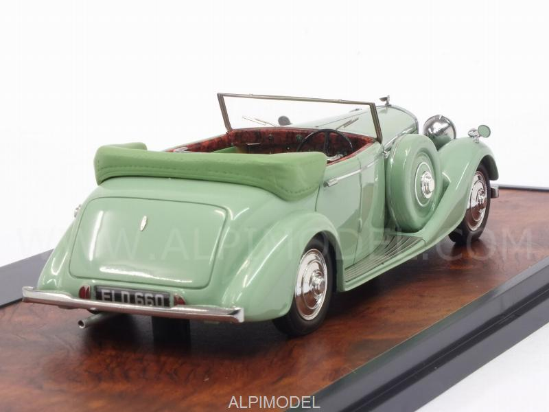 Bentley 4-1/4 Litre All-Weather Tourer 1937 by Thrupp - Maberly (Green) - matrix-models