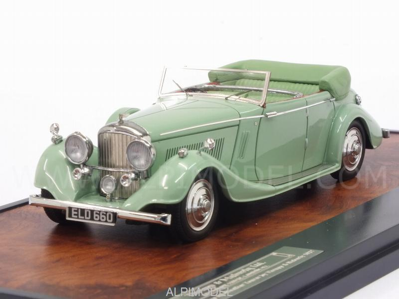 Bentley 4-1/4 Litre All-Weather Tourer 1937 by Thrupp - Maberly (Green) by matrix-models