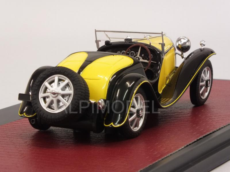 Bugatti Type 55 Roadster 1932 (Yellow/Black) - matrix-models