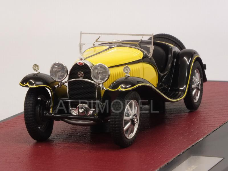 Bugatti Type 55 Roadster 1932 (Yellow/Black) by matrix-models