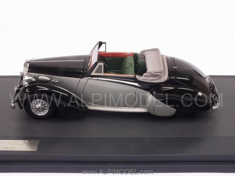 Daimler DB18 DHC Carlton 1938 (Black/Silver) - matrix-models