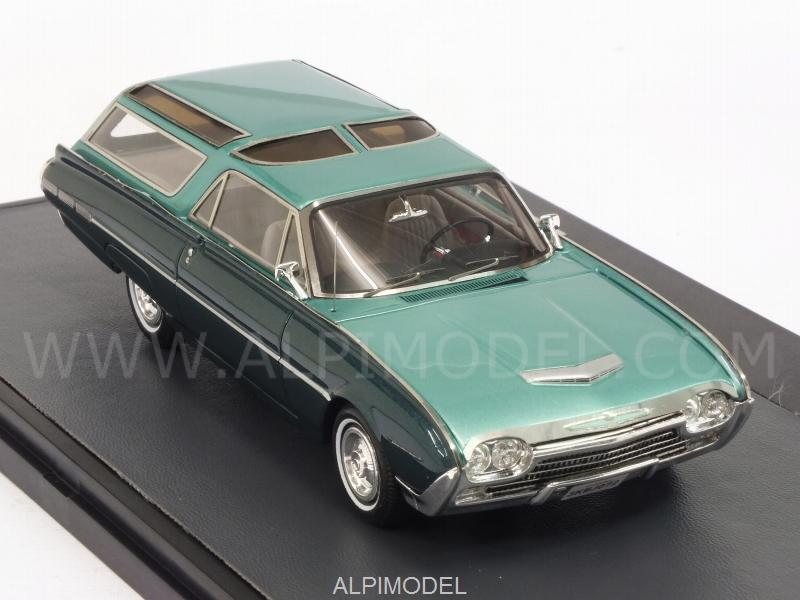 Ford Thunderbird Vista-Bird Wagon 1962 (Green Metallic) - matrix-models