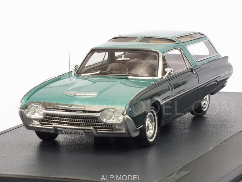 Ford Thunderbird Vista-Bird Wagon 1962 (Green Metallic) by matrix-models