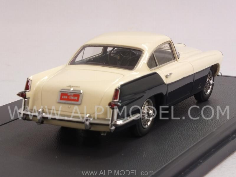 Jaguar XK140 Ghia Coupe 1956 (White/Blue) - matrix-models