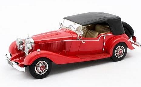 Mercedes 500K Tourer Mayfair closed 1934 (Red) by matrix-models