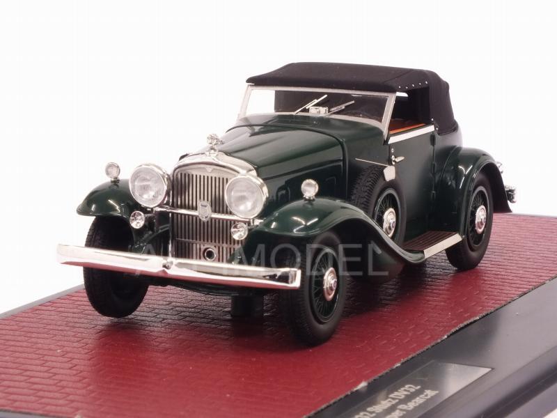 Stutz Dv32 Super Bearcat Cabriolet Closed 1932 Green MATRIX 1:43 MX41804-072 Mod
