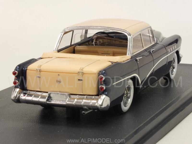 Matrix Models Buick Landau Concept 1954 Metallic Blue 1 43 Scale Model
