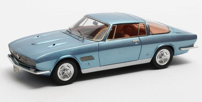 Ford Mustang Bertone Automobile Quarterly 1965 (Blue) by matrix-models