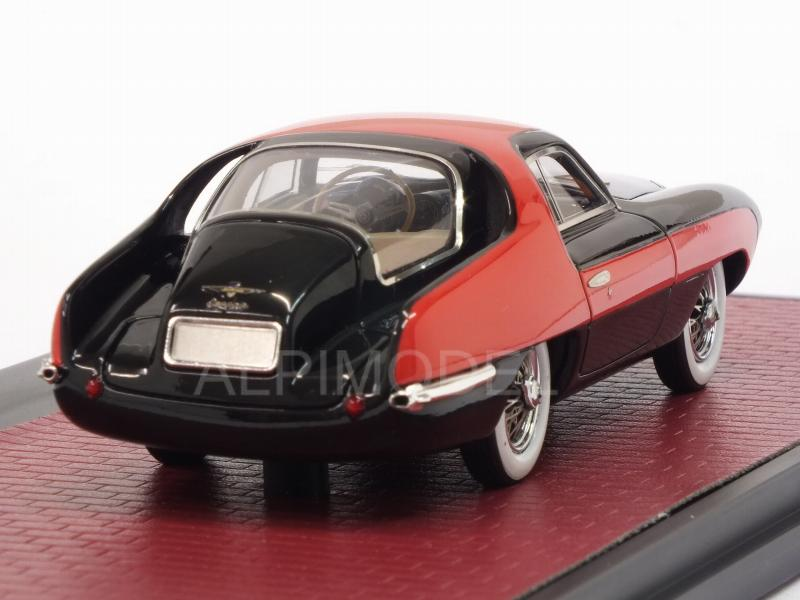 Pegaso Z-102 Thrill Coupe 1953 (Red/Black) - matrix-models
