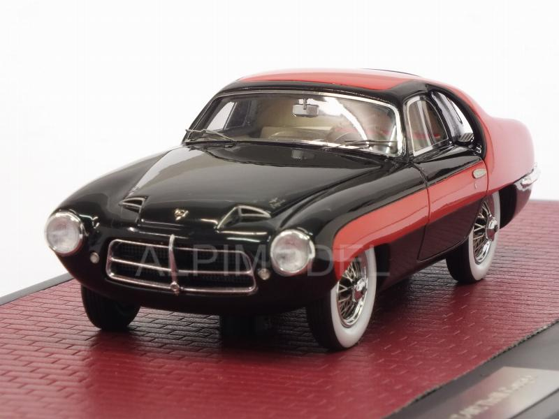 Pegaso Z-102 Thrill Coupe 1953 (Red/Black) by matrix-models