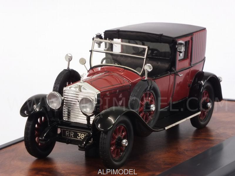 Rolls Royce 20 HP Open Drive Brougham by Brewster 1927 (Red/Black) by matrix-models