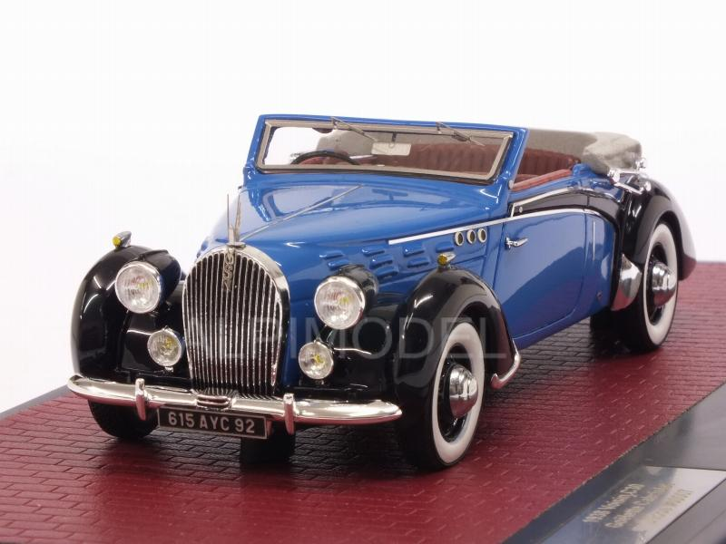 Voisin C30 Goelette Cabriolet Dubos open 1938 by matrix-models