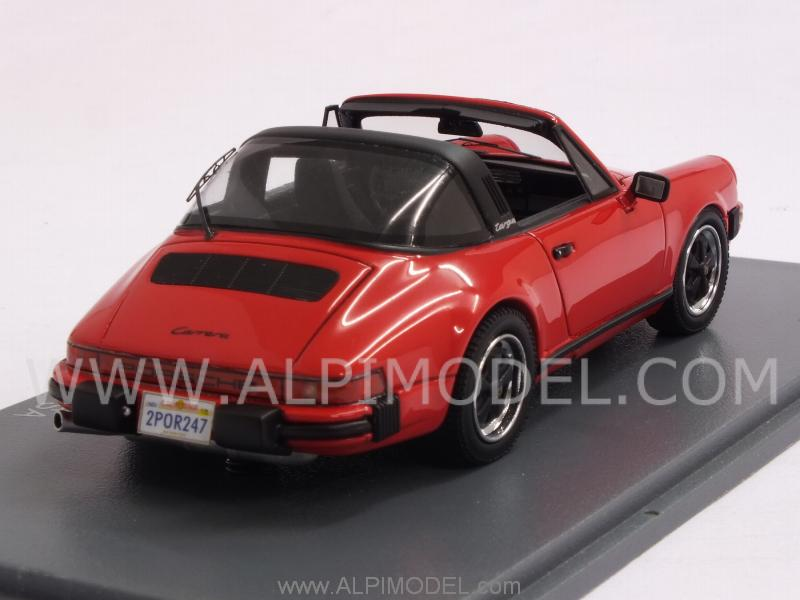 Neo Porsche 911 Carrera Targa Usa 1 43 Scale Model