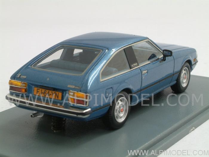 Neo Toyota Celica A40 Metallic Blue 1 43 Scale Model