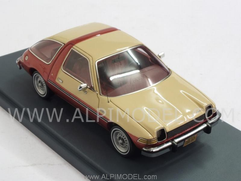 AMC Pacer 1975 (Beige/Red Metallic) - neo