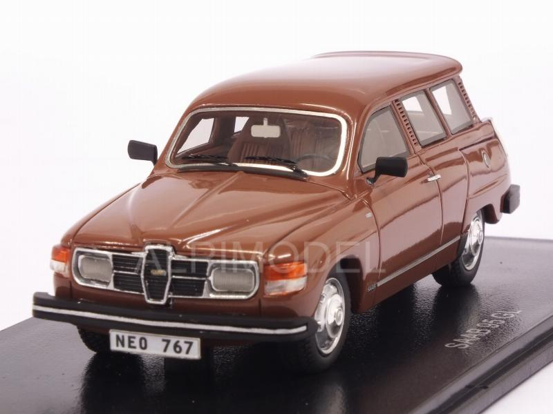 Saab 95 GL 1979 (Brown) by neo