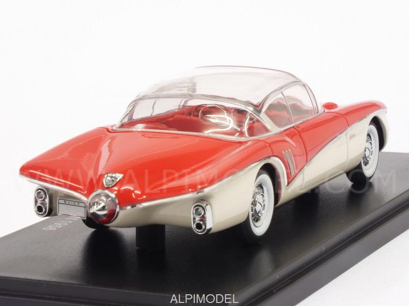 Buick Centurion XP-301 Concept 1956 (Red/White) - neo