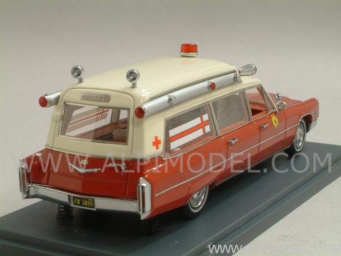 Cadillac S&S Ambulance Fire and Rescue Service 1966 by neo