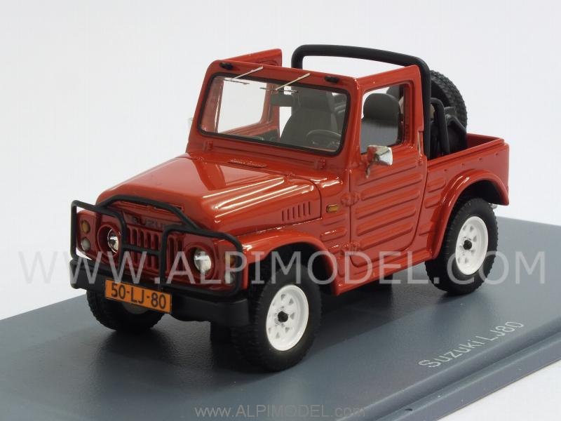 Suzuki LJ80 open canopy 1977 (Red) by neo