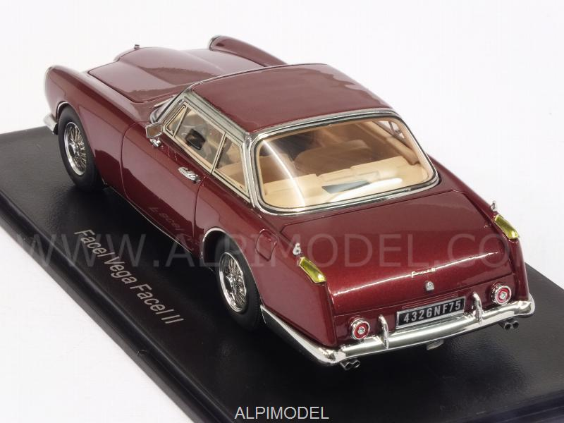 Facel Vega Facel II (Metallic Dark Red) - neo