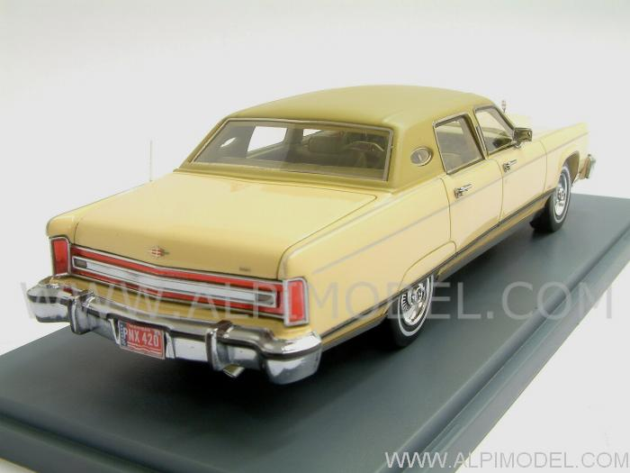 neo Lincoln Continental Town Car Yellow 1977 (1/43 scale ...
