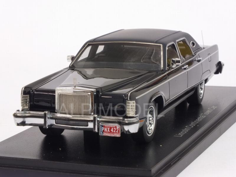Lincoln Continental Town Car 1977 (Black) by neo