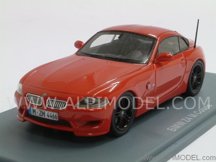 Neo Bmw Z4 M Coupe Red 1 43 Scale Model
