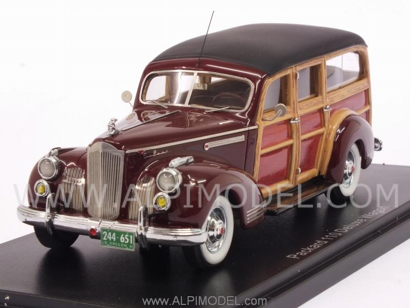 Packard 110 Deluxe Wagon 1941 (Dark Red) by neo