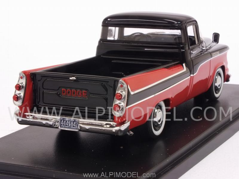 Dodge D100 Sweptside PickUp 1959 (Red/Black) - neo