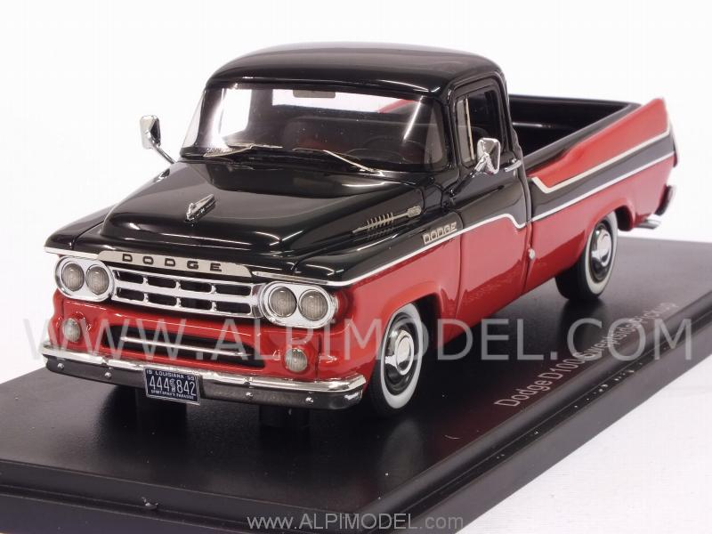 Black Dodge Pickup >> neo Dodge D100 Sweptside PickUp 1959 (Red/Black) (1/43 scale model)