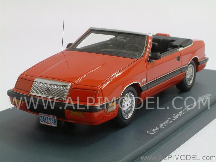Chrysler LeBaron convertible 1990 (Red) by neo