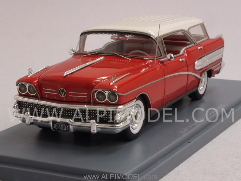 Buick Century Caballero 1957 (Red/White) by neo
