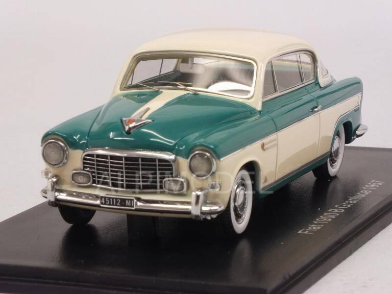 Fiat 1900B Gran Luce Coupe 1957 (Beige/Green) by neo