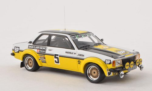 Opel Ascona B Gr.2 #5 Rally Antibes 1980 Clarr - Fauchille by neo