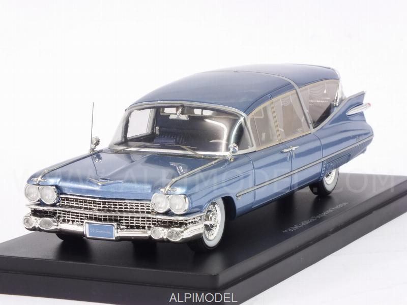 Cadillac S&S Superior Landau Hearse 1959  (Metallic Blue) by neo