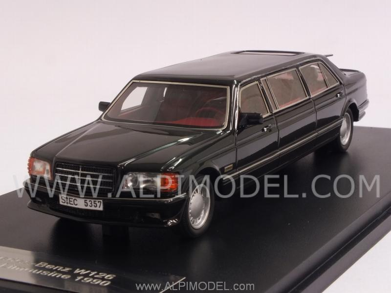 Mercedes W126 Stretch Limousine (Black) by neo