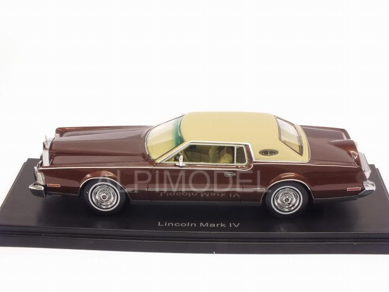 Lincoln Continental Mark IV 1973 (Metallic Brown) - neo