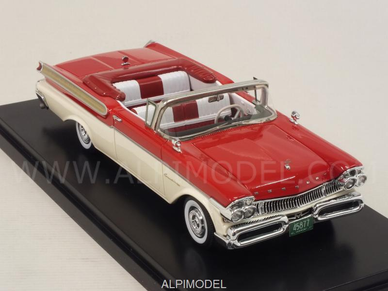 Mercury Turnpike Cruiser Convertible 1957 (Red/White) - neo